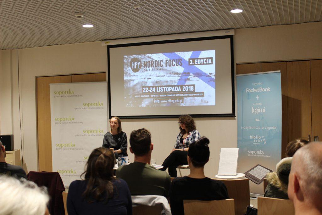 3. Nordic Focus Festival 2018 - Spotkanie z Anną Kurek - Szczęśliwy jak łosoś